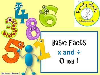 Basic Number Facts Warm Up PowerPoints Multiply and Divide