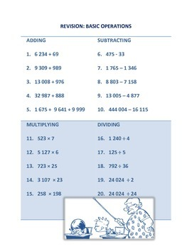 Basic Operations and Decimal Fractions - pdf