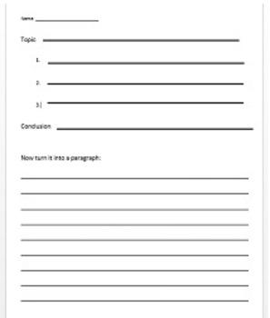 Basic Outline Worksheet