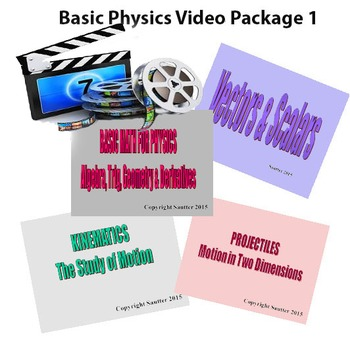 Basic Physics Video Package 1