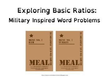 Basic Ratios: Military Themed