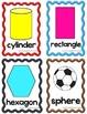 Basic Shapes Flash Cards