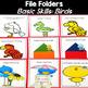 Basic Skills File Folder Games: Birds Theme