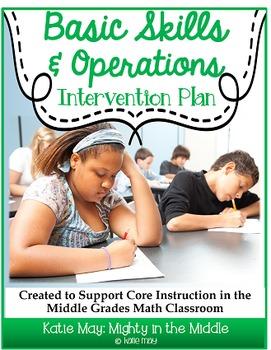 Basic Skills Math Intervention Plan- Supports Middle Schoo