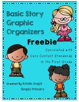 Basic Story Plot Graphic Organizer FREEBIE