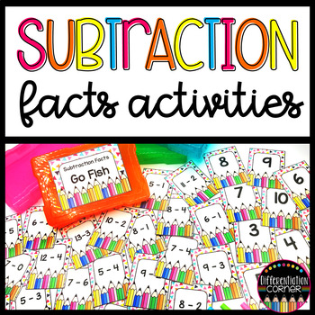 Subtraction Fact Game