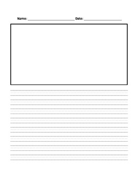 Basic Writing Paper with picture