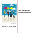 Basic business communication skills workbook