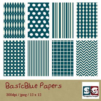 BasicBlue Paper Pack