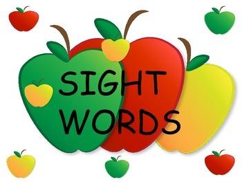 BasicSight Words