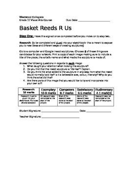 Basket Reeds R Us