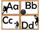 Basketball Alphabet (Word Wall Tags)