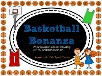 Basketball Bonanza-an Articulation Packet for Speech Thera