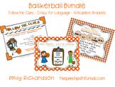 Basketball Bundle: Follow the Clues - Crazy for Language -