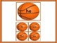 Basketball Dolch Primer Sight Word Flashcards and Posters