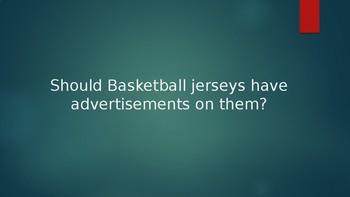 Basketball Jersey Debate