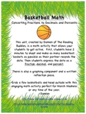 Basketball Math-Fractions, Decimals, and Percents