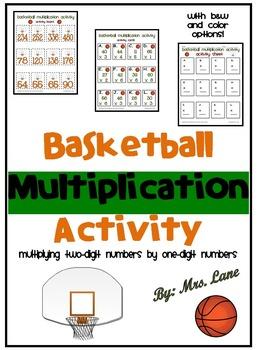 Basketball Multiplication Activity