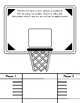 Basketball Roll and Cover Activity / Templates