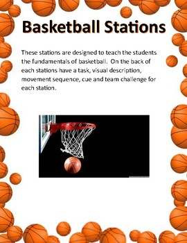 Basketball Stations