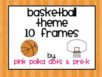 Basketball / Sports Theme Ten Frames