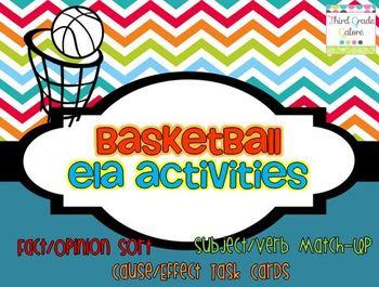 Basketball Themed ELA Practice