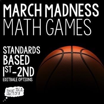 Basketball Math Games + Activities {Get In The Game}