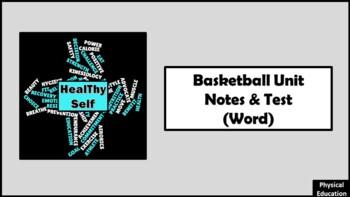 Basketball Unit Notes & Test