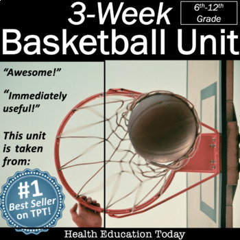 3-Week Basketball Unit: From the #1 P.E. Curriculum on TPT!