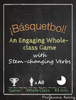 Basquetbol: A Whole-class Game to Review Boot Verbs