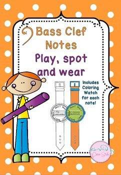 Bass Clef Notes (Play, Spot and wear!)