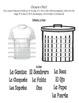¿Basura o Bien?- Spanish Vocabulary Station/Activity- Categories