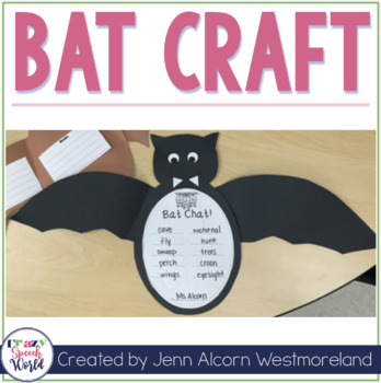 Bat Craft Activities for Speech Therapy