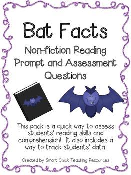Bat Facts ~ A Non-Fiction Reading Assessment Prompt