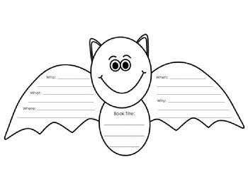 Bat Graphic Organizer 5-Ws