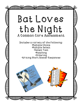 Bat Loves the Night Assessment