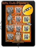 Bat, Owl & Spider Stories iPad QR Codes & Hyperlinks~Liste