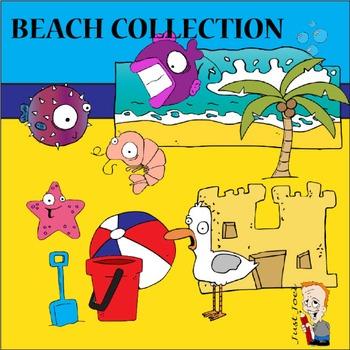 Beach Clipart Collection