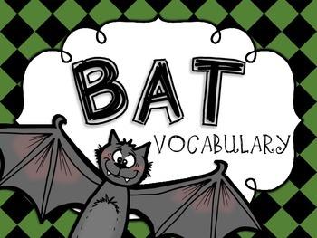 Bat Vocabulary