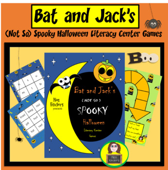 Miss Kinders Bat and Jack's Not So Spooky Halloween Litera