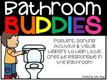 Bathroom Buddies {Sorting Activity, Posters & Reminders fo