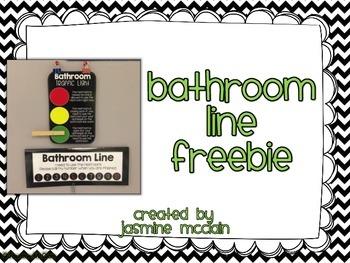 Bathroom Line FREEBIE