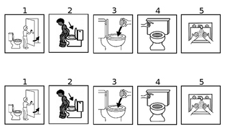 Bathroom Visuals or Routine