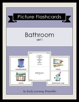 Bathroom (set I) Picture Flashcards