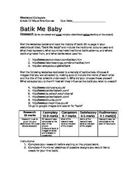 Batik Me Baby