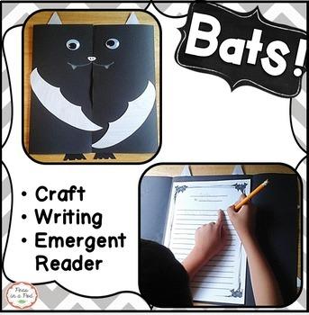 Bats Halloween Craft ~ kindergarten, first grade, second,