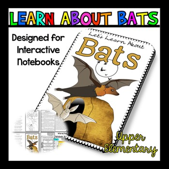 All About Bats: Bats Reading Passage: Perfect for Interact