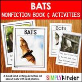 Bats Kindergarten Book & Activities