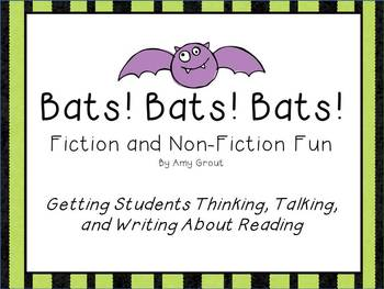 Bats! Bats! Bats! Fiction and Non-Fiction Reading