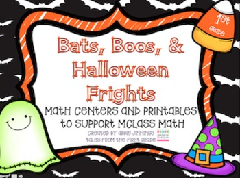 Bats, Boos, and Halloween Frights- Number Sense and mClass